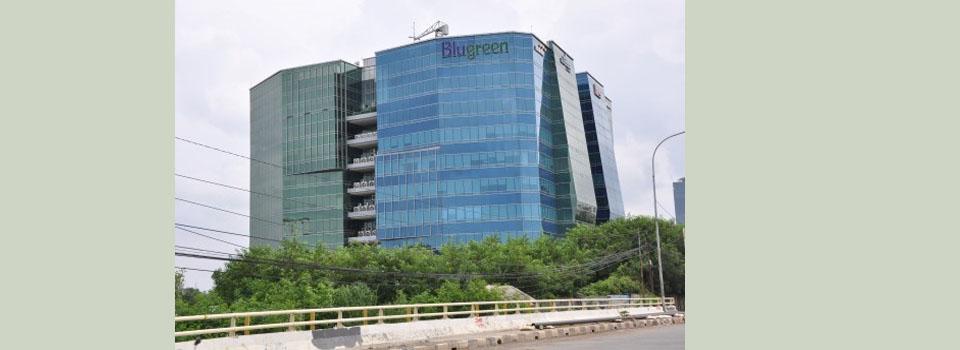 sewa kantor gedung the bluegreen office tower park jakarta office lease the bluegreen office tower park